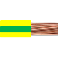 0.6/1kV 1C x 240mm2 Stranded Cu PVC Green/Yellow