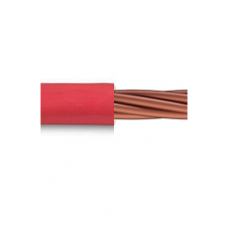 0.6/1kV 1C x 10mm2 Stranded Cu PVC Red