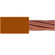 0.6/1kV 1C x 2.5mm2 Stranded Cu PVC Brown