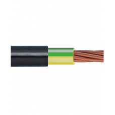 0.6/1kV 1C x 6mm2 Stranded Cu PVC/PVC Green/Yellow/Black