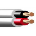 0.6/1kV 2C x 6mm2 Stranded Cu PVC/PVC Red/Black/White Flat
