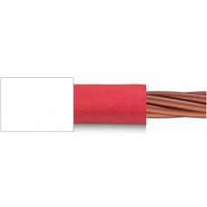 0.6/1kV 1C x 2.5mm2 Stranded Cu PVC/PVC Red/White